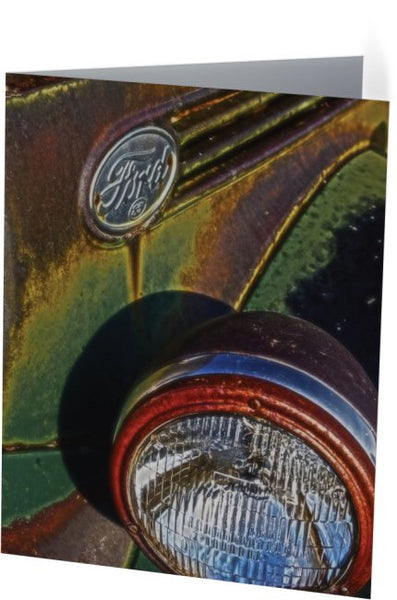 Ford Headlight Note Cards and Greeting Cards (25 Pack)
