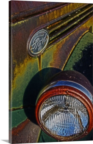 Ford Headlight Canvas Print