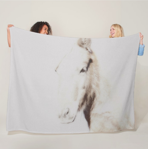 Ghost Fleece Blanket