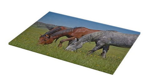 Grass Grazing Time Cutting Board