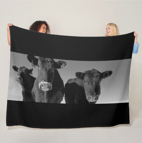 Here's Looking at you Kid Fleece Blanket
