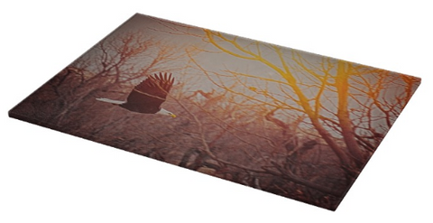 Home by Sunset Cutting Board