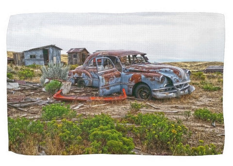 Homestead and Pontiac Kitchen Towel