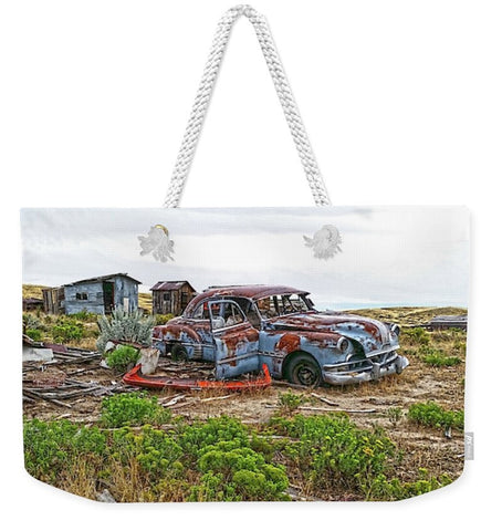 Homestead and Pontiac Weekender Tote bag