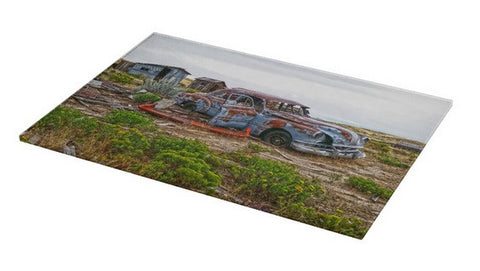 Homestead and Pontiac Cutting Board