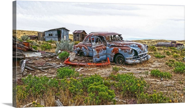 Homestead and Pontiac Canvas Print