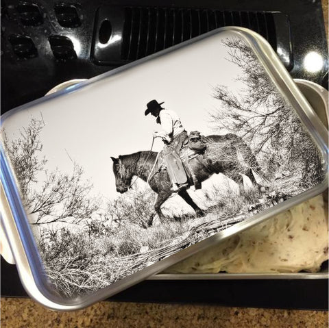 I Went up to the Mountain Cake Pan with Lid