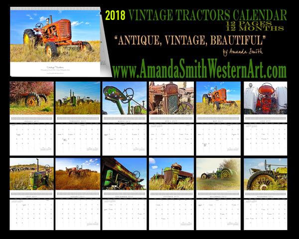 2018 Antique Tractor Calendar