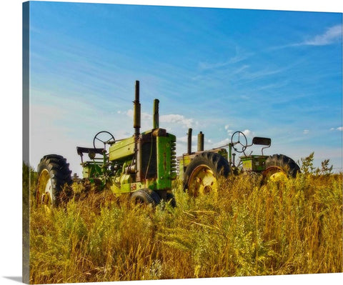 John Deere Two Canvas Print