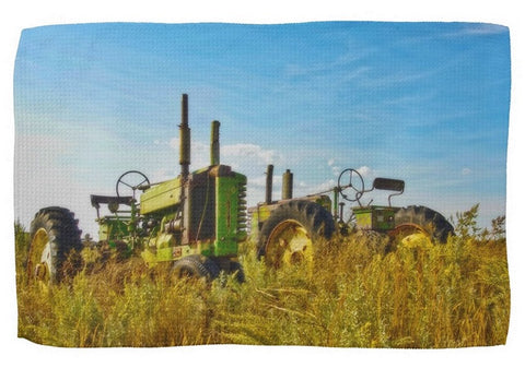 John Deere Two Kitchen Towel