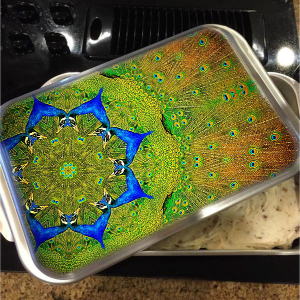 Kaleidoscope Cake Pan with Lid