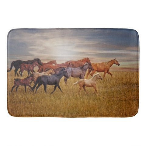 Last Light's Run Bath Mat