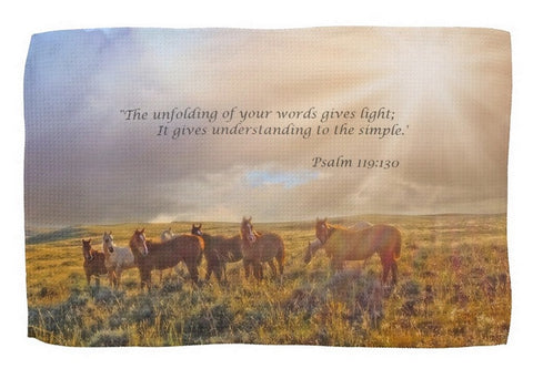 Led by the Light Inspirational Kitchen Towel