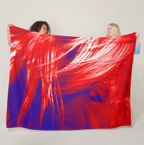Let Freedom Ring Fleece Blanket