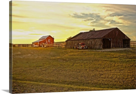 Leuenberger Barn at Sunset Canvas Print