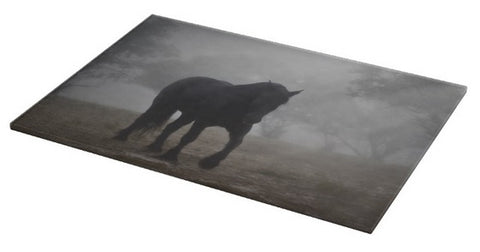 Medieval in the Mist Cutting Board