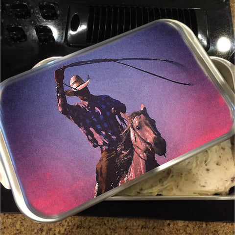 Midnight Cowboy Cake Pan with Lid