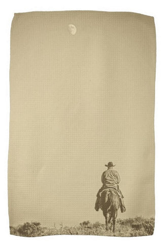 Moonrise Ride Kitchen Towel