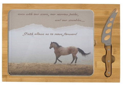 Mystical Beauty Inspirational Cheese Board