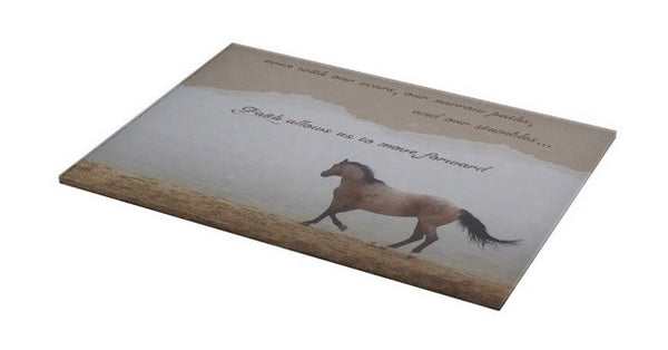 Mystical Beauty Inspirational Cutting Board