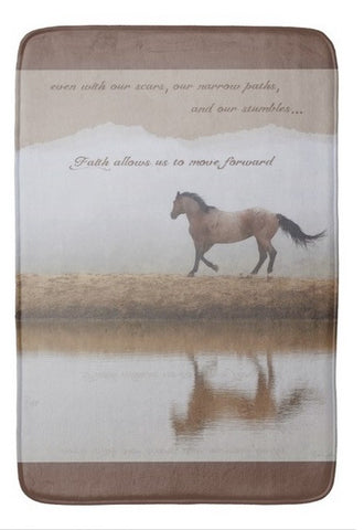 Mystical Beauty Inspirational Bath Mat