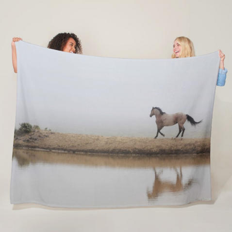 Mystical Beauty Fleece Blanket