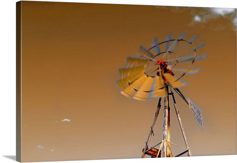 Windmills Canvas Prints