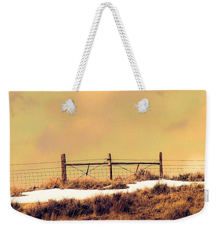 North Gate to Sunset Weekender Tote bag