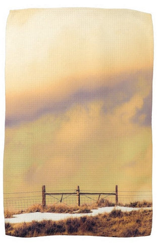North Gate to Sunset Kitchen Towel