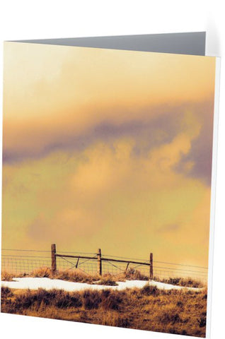North Gate to Sunset Note Cards and Greeting Cards (25 Pack)