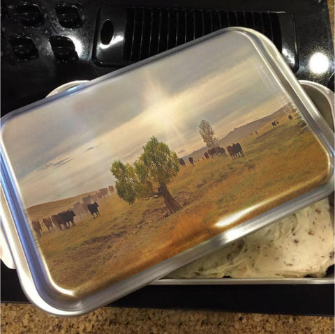 October Drive Cake Pan with Lid