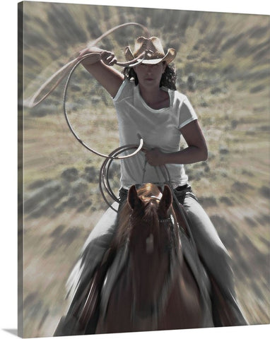 Cowgirl Canvas Prints