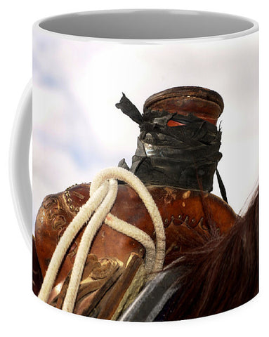 Open Range Roping Saddle Mug