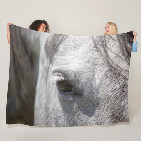 Ousted's Eye Fleece Blanket