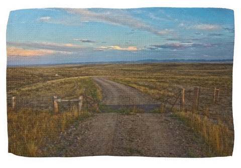 The Road Less Traveled Kitchen Towel