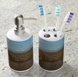 The Road Less Traveled Bathroom Set