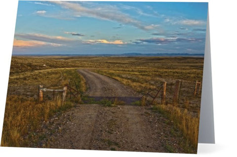 The Road Less Traveled Note Cards and Greeting Cards (25 Pack)