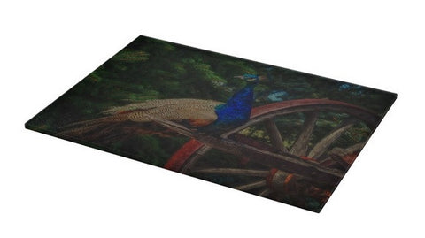 Peacock Vantage Cutting Board