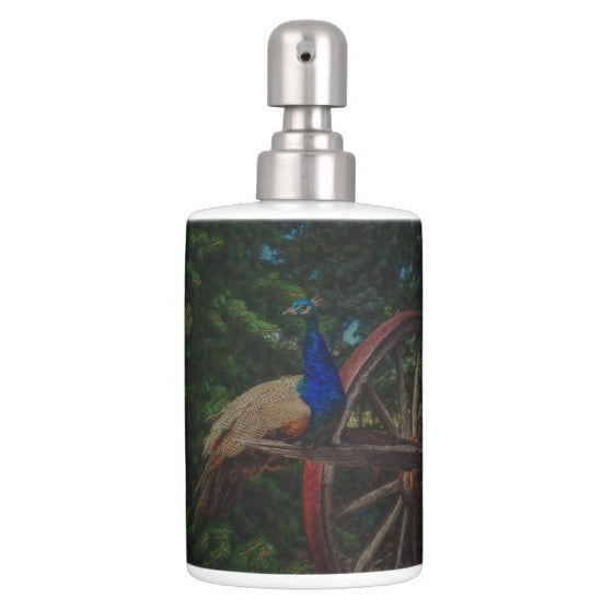 Peacock Vantage Bathroom Set