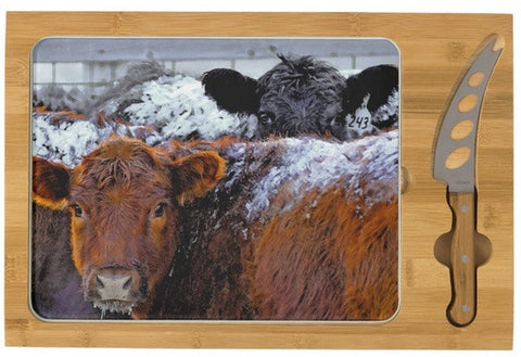 Peek A Boo Heifers Cheese Board