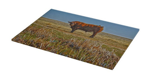 Pigtail Bull Cutting Board