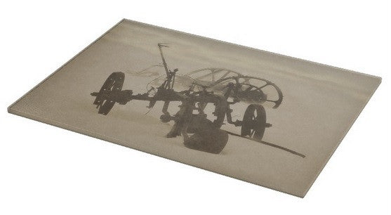 Plow in Blizzard Cutting Board