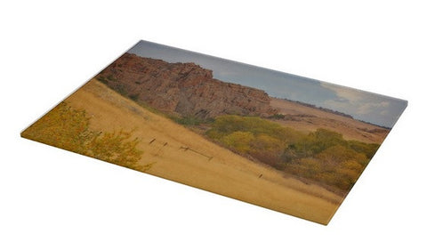 Powder River Fence Cutting Board