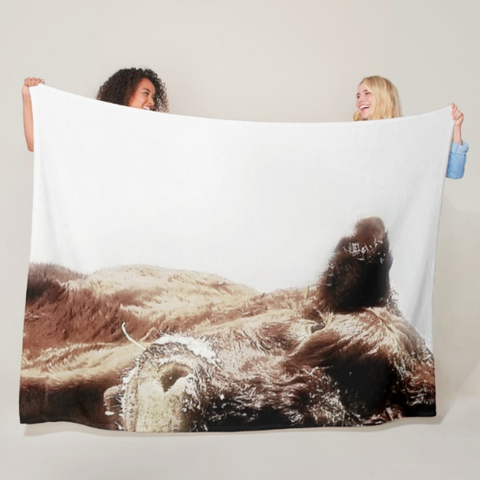 Power and Ice Fleece Blanket