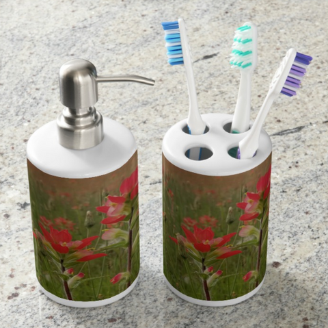 Prairie Fire Bathroom Set