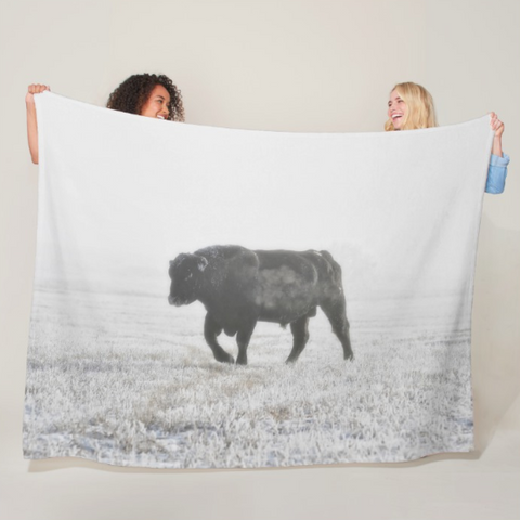 Quietly Majestic Fleece Blanket