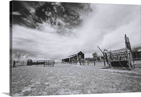 Ranchscape Canvas Print