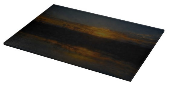 Reservoir At Sunset Cutting Board