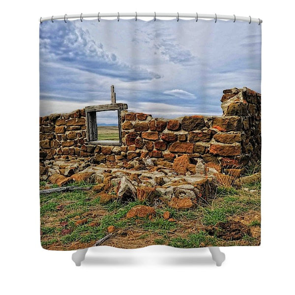 Rock Hills Prairie Shower Curtain