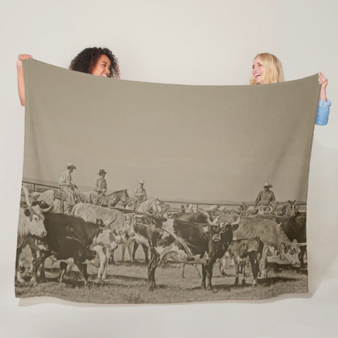 Rockwell Moments Fleece Blanket